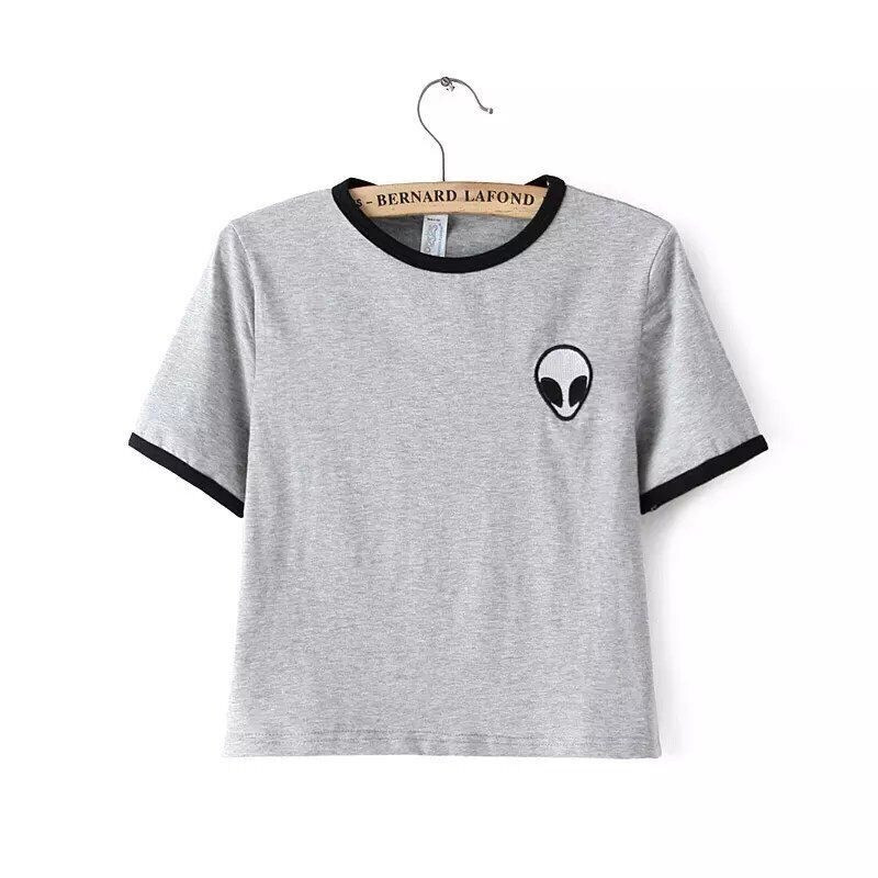 FASHION ALIEN FEMALE SHIRT BLOUSE TOPS Y086869